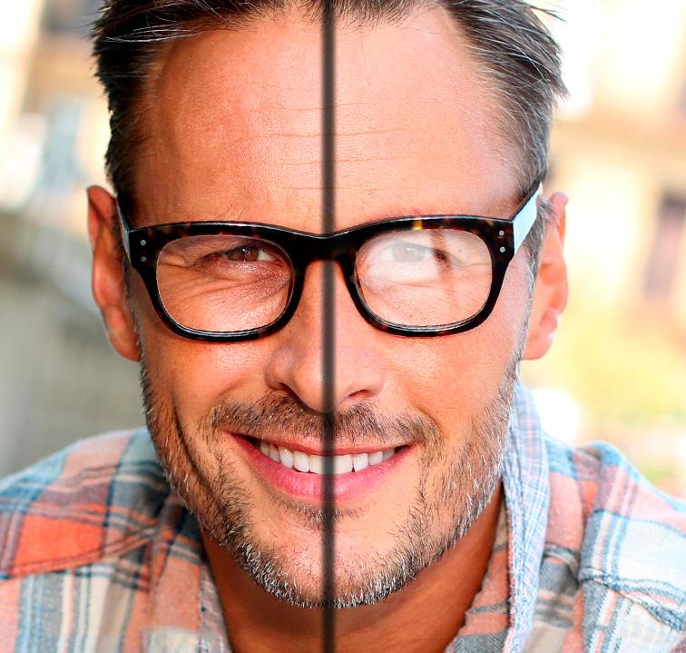 Pourquoi choisir des verres trait s aint reflets - Verre anti reflet ...